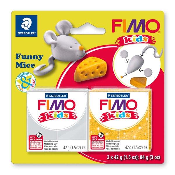 Staedtler FIMO kids Funny Mice