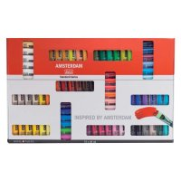 AMSTERDAM Acrylfarbe XXL Set 72 Farben