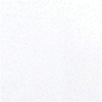 Rico Design Stoff Dreiecke weiß-mint 50x70cm