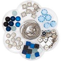 Rico Design Polaris Blumenbox blau 118teilig