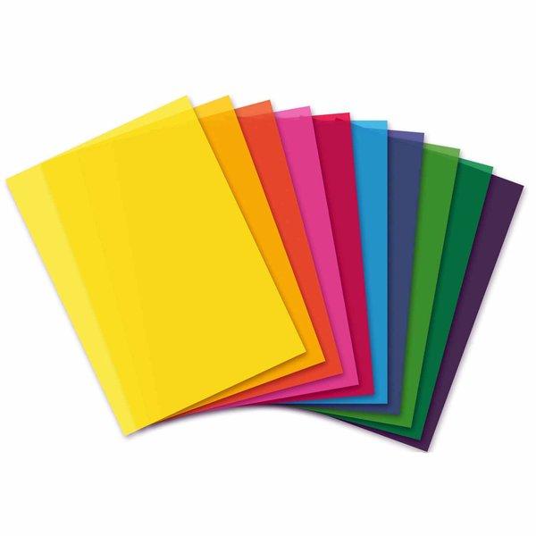 MARPA JANSEN Transparentpapier Block mehrfarbig A4 200g/m²