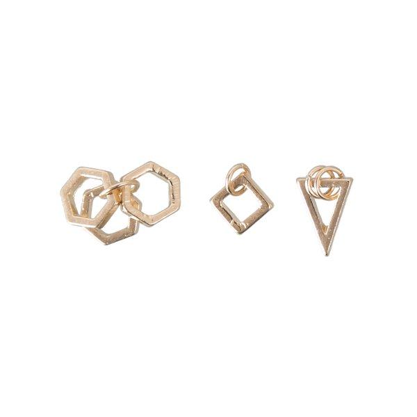Jewellery Made by Me Anhänger Mix9 gold 3 Stück