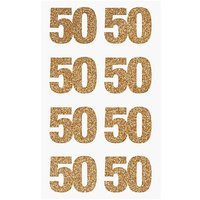 Paper Poetry Glittersticker 50 gold