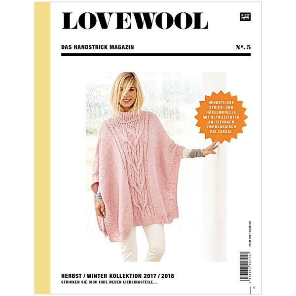 Rico Design Lovewool Nr.5 Handstrickmagazin Herbst-Winter 2017-2018