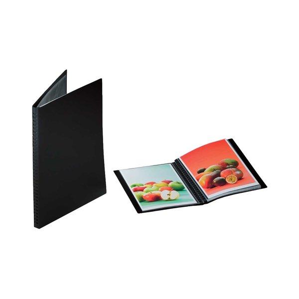 RUMOLD Präsentationsbuch schwarz A4 20 Seiten