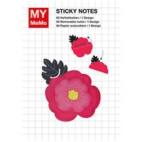 Rico Design Sticky Notes Mohnblüte 50 Stück