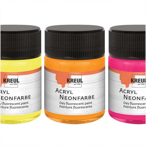 Kreul Acryl Neonfarbe 50ml