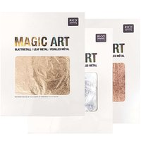 Rico Design Magic Art Blattmetall 25 Blatt