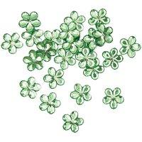 Rico Design Sticker Blüte grün 24 Stück
