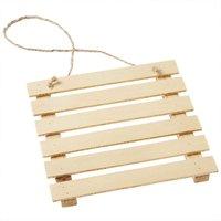 Hobby Fun Holz-Palette natur 12cm