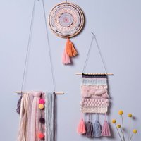 Anleitung Wandbehänge weben und knüpfen