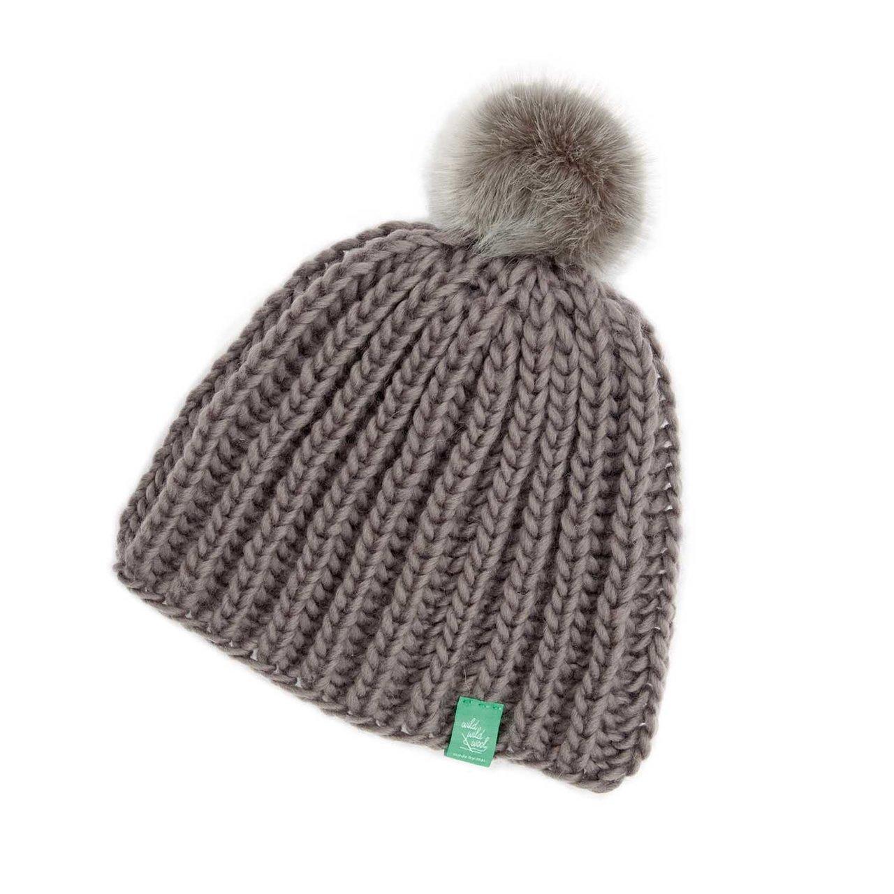 Rico Design Wild Wild Wool Strickset Mütze mit ...