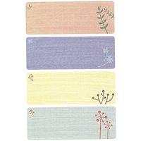 Paper Poetry Sticker Namensschilder 5 Bogen