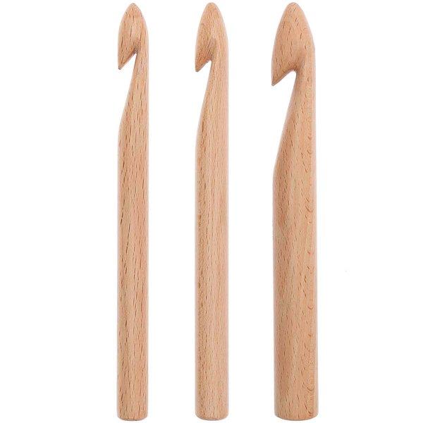 Rico Design Häkelnadel Holz