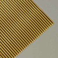 efco Wachsstreifen rund gold 20cm 19 Stück