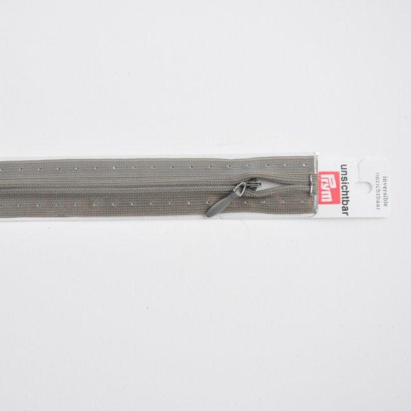 Prym Reißverschluss S6 unsichtbar dunkelgrau 60cm