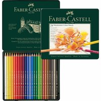 Faber Castell Polychromos Metalletui 24teilig