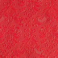 Ambiente Serviette elegance red bright 33x33cm 15 Stück