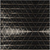 Paper Poetry Geschenkpapier graphisch schwarz-gold 70cm 2m Hot Foil