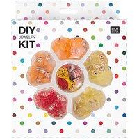 Rico Design DIY Perlenset für Kinder gelb-orange 16x20x4cm