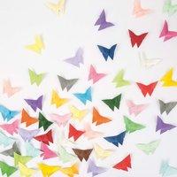 Origami Schmetterlinge Falten Mit Gratis Anleitung Selber