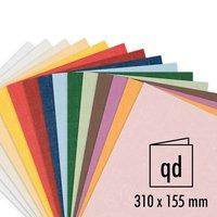 Artoz Serie 1001 Doppelkarte qd 220g/m² 5 Stück
