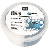 Rico Design Super Fluffy Set Maus 40g
