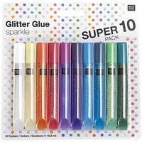 Rico Design Glitter Glue sparkle 10x10,5ml