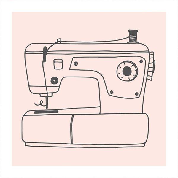 May&Berry Stempel Nähmaschine 45x45mm
