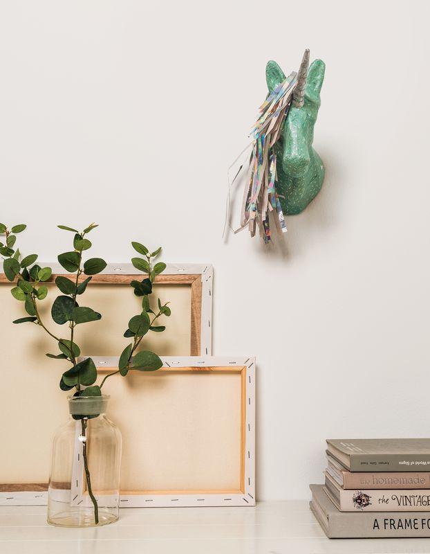 Beispiel Für Einhorn Wanddekoration Selber Machen. ANLEITUNG