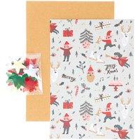 Paper Poetry DIY-Kartenset Jolly Christmas Classic