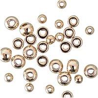 Jewellery Made by Me Kugeln und Scheiben gold 30 Stück