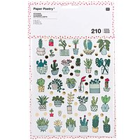 Paper Poetry Sticker Hygge Plants 6 Blatt