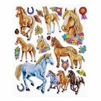 HobbyFun XXL Sticker Pferde