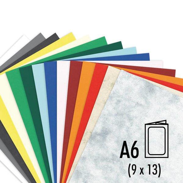 Passepartout-Karte S-Line  A6 200g/m² 5 Stück rechteckig