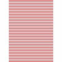 MARPA JANSEN Fotokarton Streifen weiß-rot 50x70cm 300g/m²