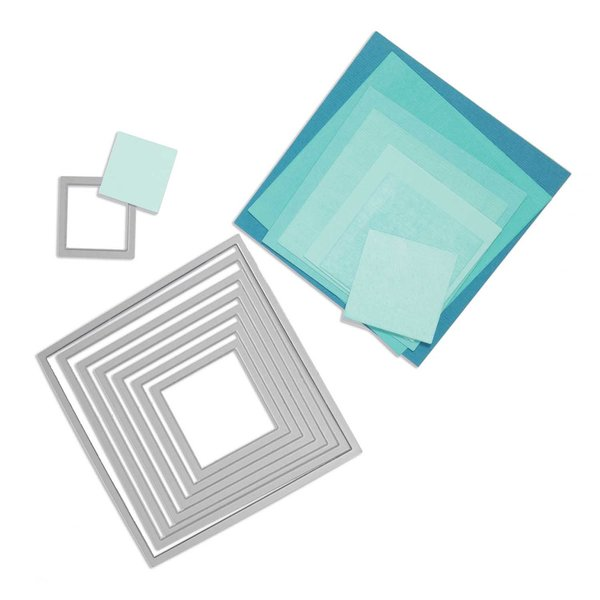 Sizzix Framelits Die Set Squares