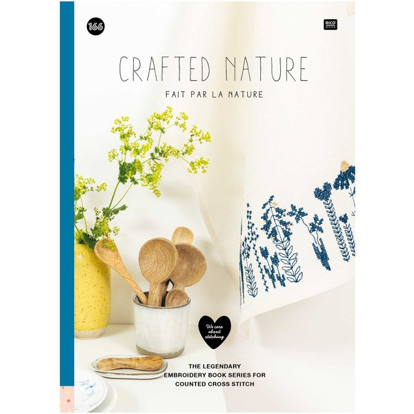 Rico Design Stickbuch Crafted Nature Nr. 166