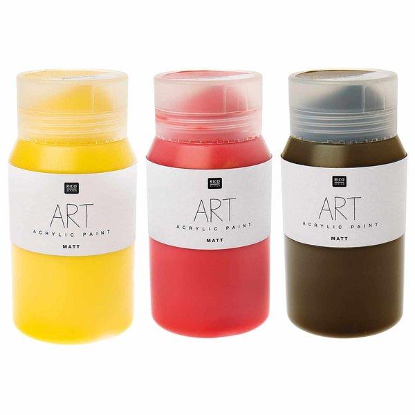Rico Design ART Künstler Acrylfarbe matt 500ml