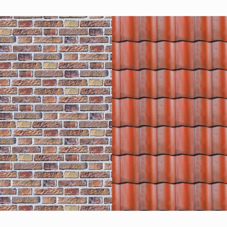 Dachziegel Kaufen Online : marpa jansen fotokarton klinker dachziegel 50x70cm 300g m kaufen ~ Yuntae.com Dekorationen Ideen