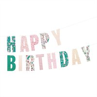 Paper Poetry Girlande Hygge Happy Birthday 3m