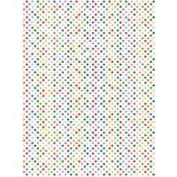 Rico Design Paper Patch Papier Punkte mehrfarbig 30x42cm