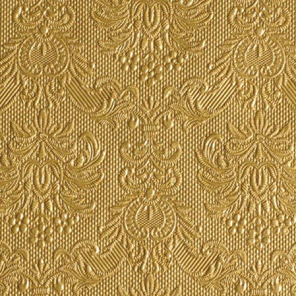 Ambiente Serviette elegance gold 33x33cm 15 Stück