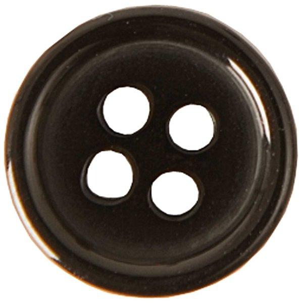 rico design knopf schwarz mm  stueck guenstig