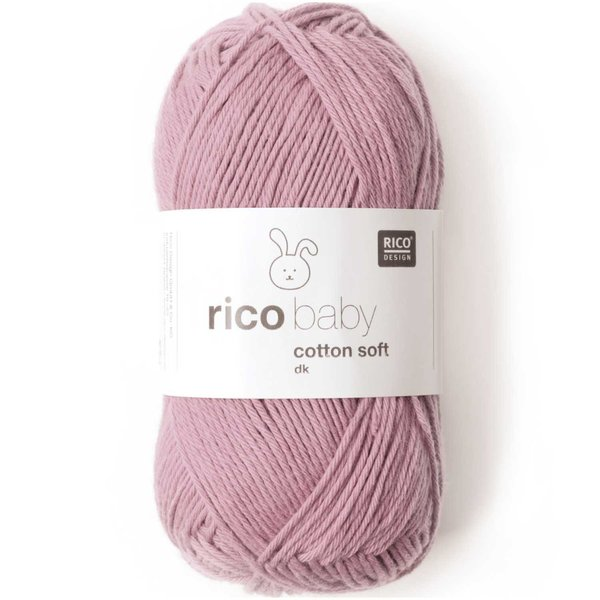 Rico Baby Wolle.Rico Design Baby Cotton Soft Dk 50g 125m