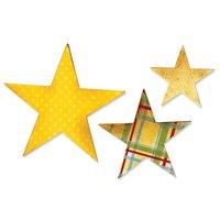 Sizzix Bigz Die Stars Stanzschablone