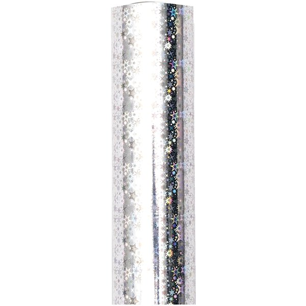 Paper Poetry Geschenkfolie Kristalle irisierend