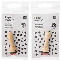 Paper Poetry Mini-Stempel Smiley