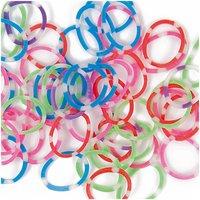 Jewellery Made by Me Loom Bänder 3in1mehrfarbig ca. 200 Stück