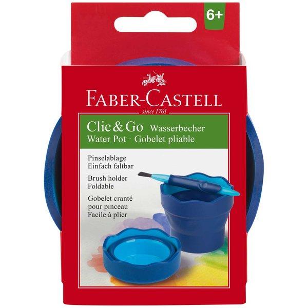Faber Castell Wasserbecher Clic & Go